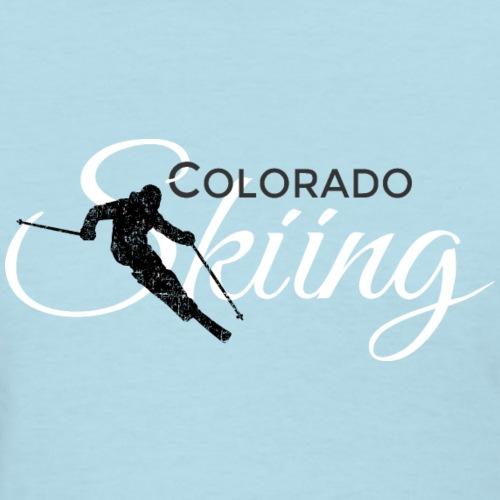Colorado Skiing Skier (Black&White)