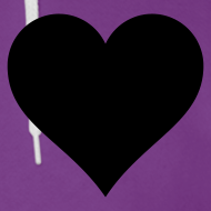 Design ~ HeartLine fleece hoodie