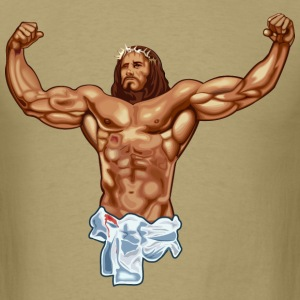 Strong Jesus T-Shirts - Men's T-Shirt