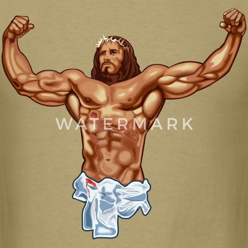 Safety Yellow Shirts >> Strong Jesus T-Shirt | Spreadshirt