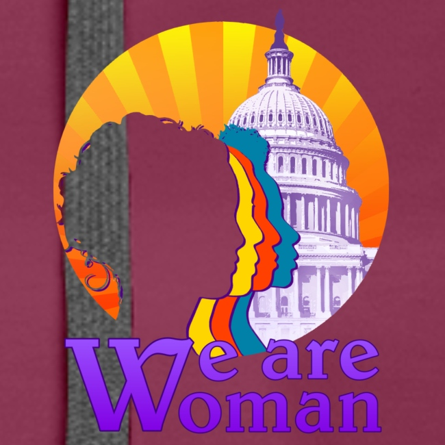 We Are Woman Pullover Hoodie 2