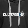 Women's White Culter35 Logo T-Shirt - Women's Premium Hoodie