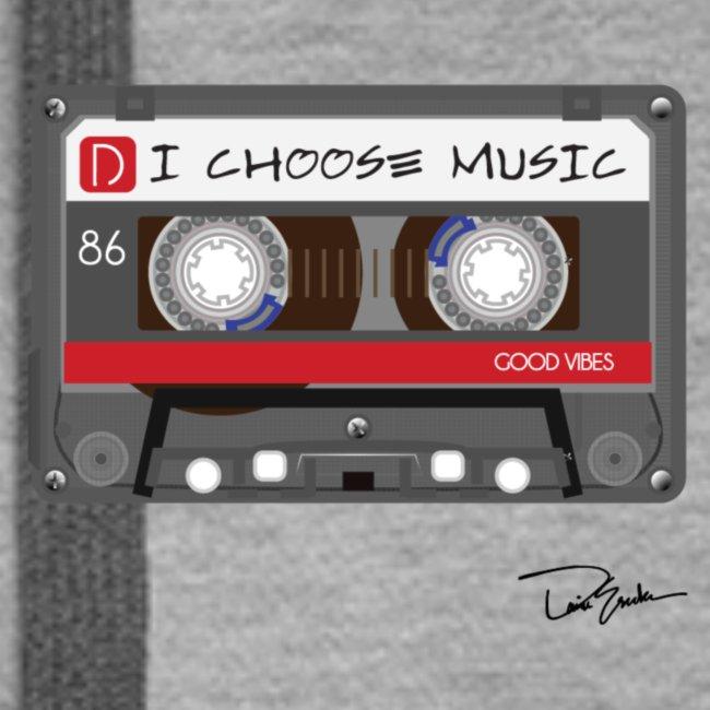 Womens' I Choose Music Hoodie