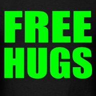 Design ~ Free Hugs Green