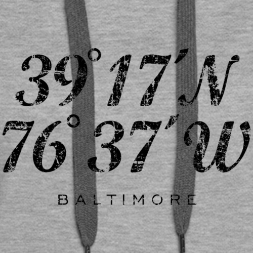 Baltimore Coordinates Vintage Black