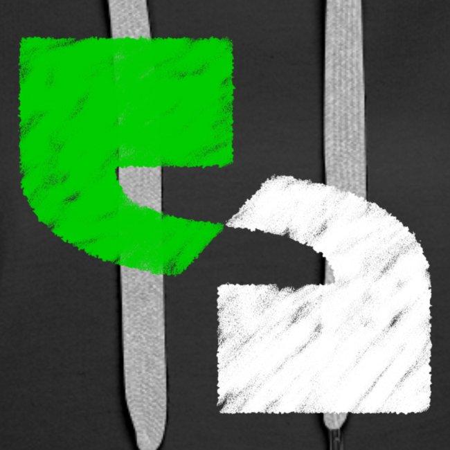 Hoodie (W) premium logo front