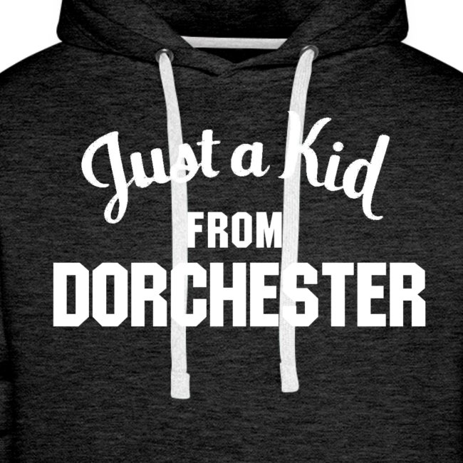 Just a Kid from Dorchester (Mens Hoodie)