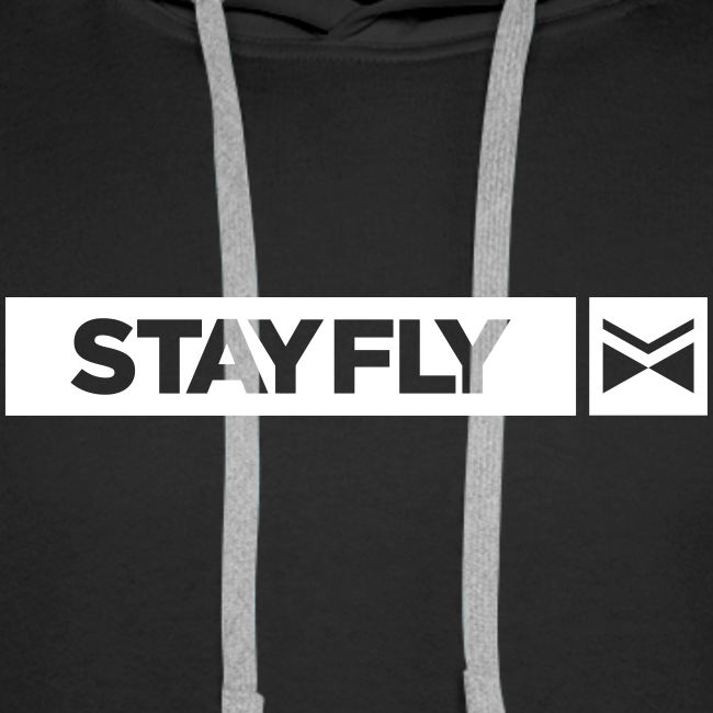#WASHBUILT Stay Fly Premium Hoodie - triple print - Special Edition