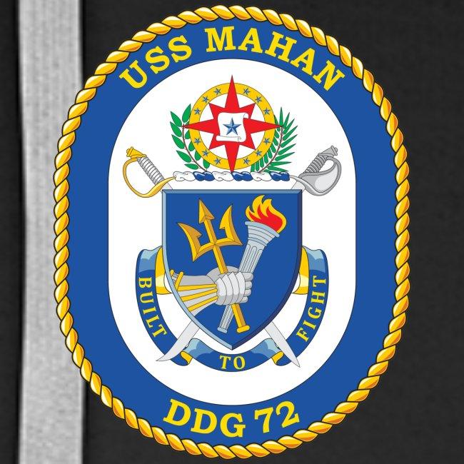 USS MAHAN DDG-72 2012-13 CRUISE HOODIE