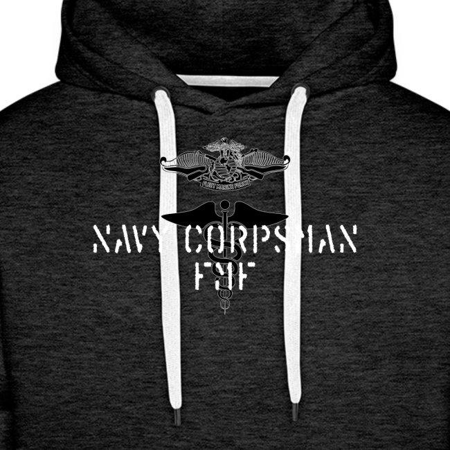 NAVY CORPSMAN - FMF - PREMIUM HOODIE