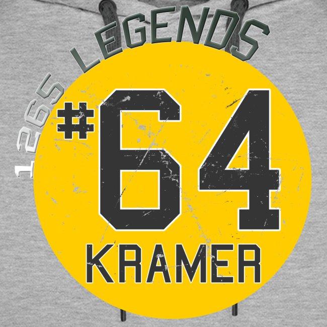 1265 Legends #64 Jerry Kramer Mens Hoodie