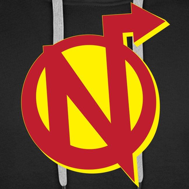 N Logo Men's Premium Hoody