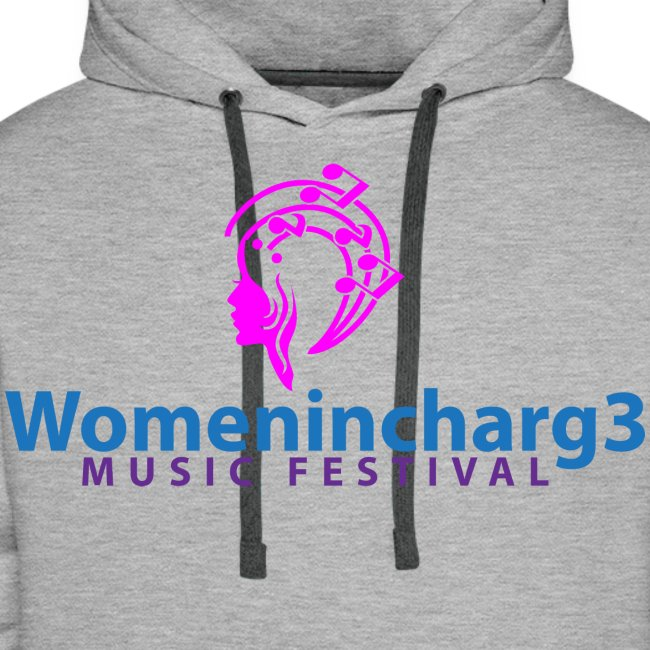 Womenincharg3 Music Festival Men Hoodie