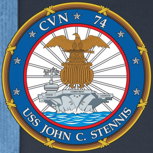 USS JOHN C STENNIS 2016 WESTPAC CRUISE HOODIE - ort