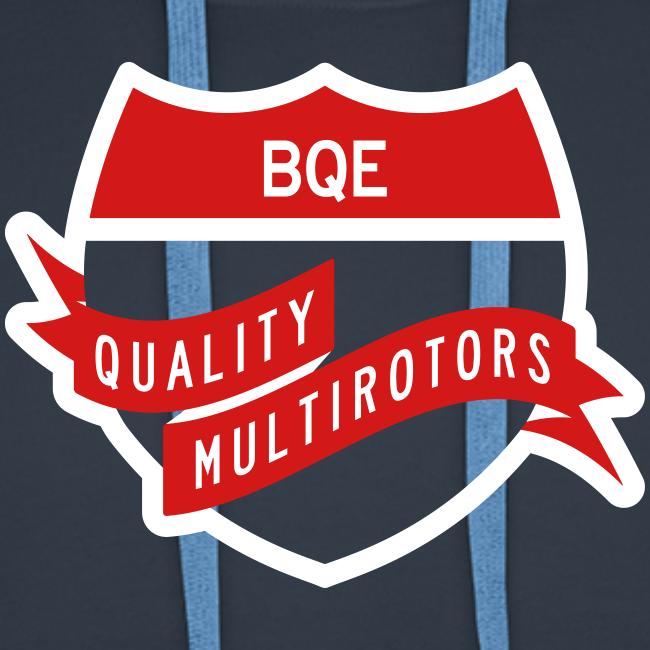 BQE Premium Hoodie Flex Print 2 color