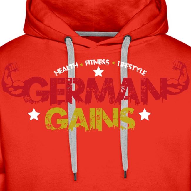 GermanGains Premium Hoodie