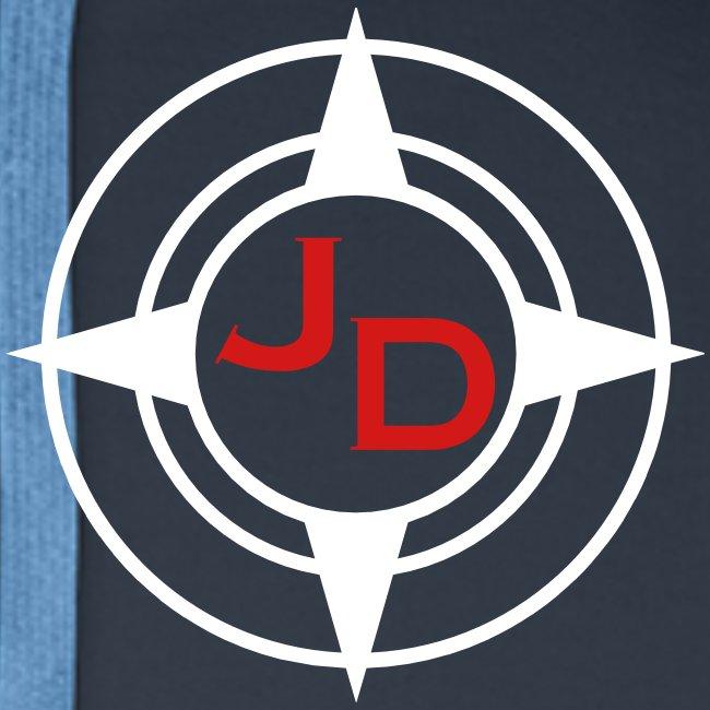 Jersey Devil Men's Premium Hoodie Dark: Striper