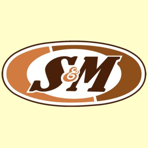 S & M logo parody A & W