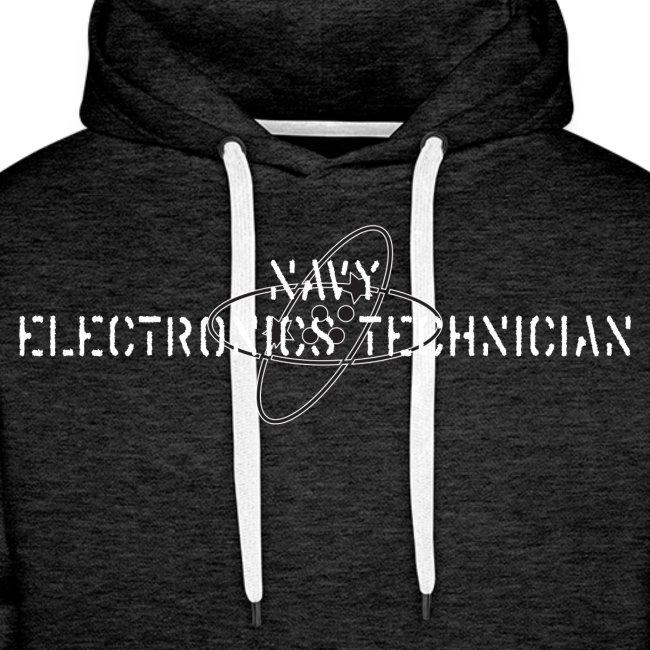 NAVY ELECTRONICS TECH - PREMIUM HOODIE