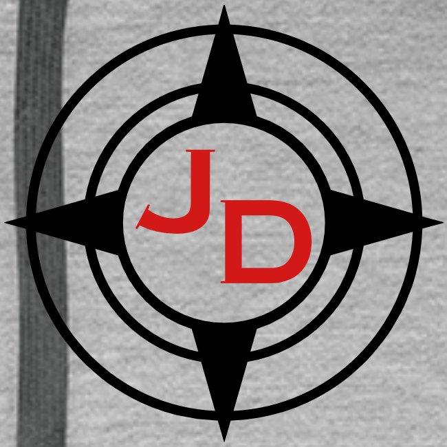 Jersey Devil Men's Premium Hoodie Grey: Tuna