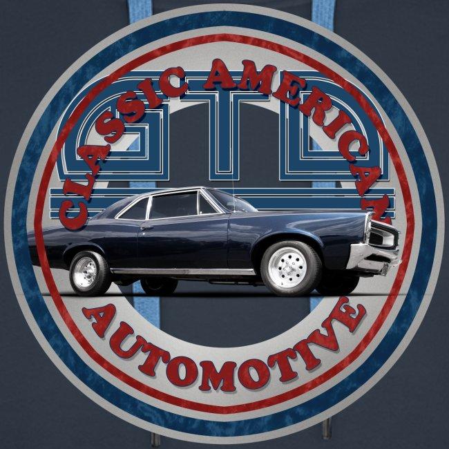 Mens Premium Hoodie | 65 Pontiac GTO | Classic American Automotive