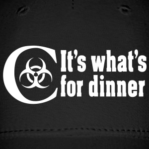 Chemo  It's what's for dinner Caps - Baseball Cap