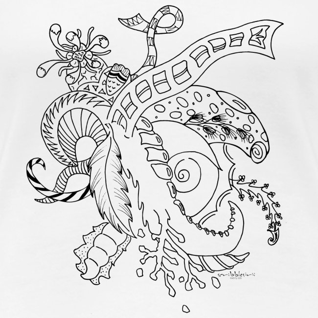 Fantasy scribblesirii black