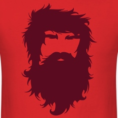 Beard Man Hairy Face Mustache T-Shirts