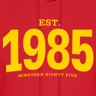 Design ~ est. 1985 Nineteen Eighty Five