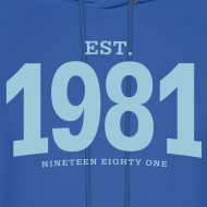 Design ~ est. 1981 Nineteen Eighty One