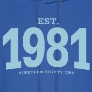 Design ~ est. 1981 Nineteen Eighty One