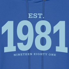 est. 1981 Nineteen Eighty One