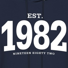 est. 1982 Nineteen Eighty Two