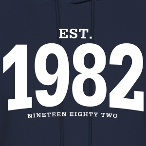 est. 1982 Nineteen Eighty Two - Men's Hoodie