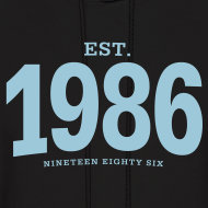 Design ~ est. 1986 Nineteen Eighty Six