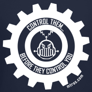 Design ~ MTRAS Control The Robots White - Sweatshirt