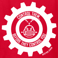 Design ~ MTRAS Control The Robots White - Kid's Tshirt