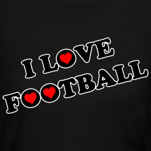 I Love Football. TM  Women Jerey tshirt - Women's Long Sleeve Jersey T-Shirt