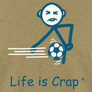 Design ~ Soccer Ball Men's Standard Weight T-Shirt