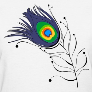 Peacock - Women's T-Shirt
