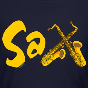 Gold Sax Long Sleeve Shirts - Women's Long Sleeve Jersey T-Shirt