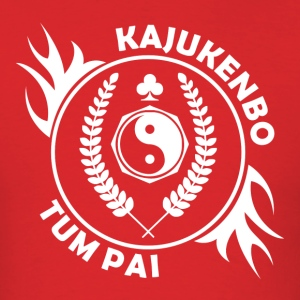 Kajukenbo - Flames - Men's T-Shirt