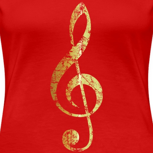 G-Clef - Treble Clef (Ancient Gold)
