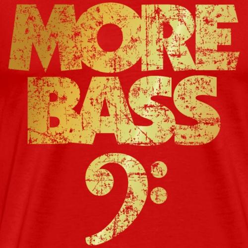 More Bass (Ancient Gold) Bass Player Design