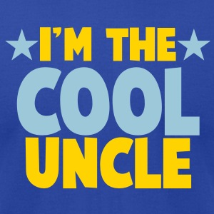 I'm the COOL uncle! T-Shirts - Men's T-Shirt by American Apparel