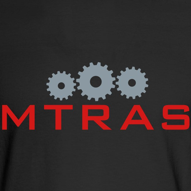 MTRAS Sprockets Metallic Silver & Red Long Sleeve Hane's