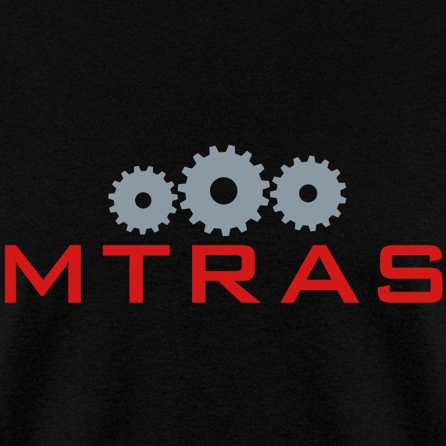 MTRAS Control The Robots Metallic Silver & Red