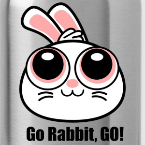 Go Rabbit, GO! Large Face RASTER Accessories - Water Bottle