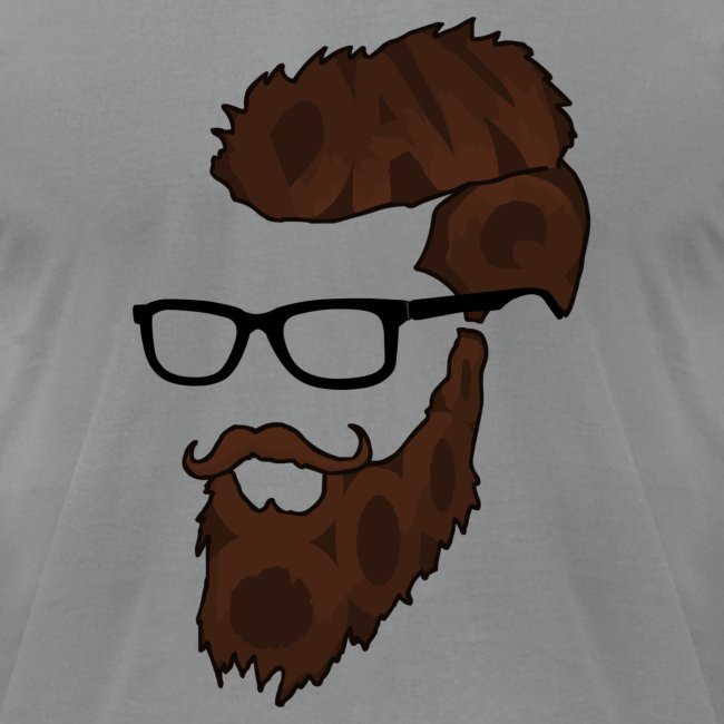 DanQ8000 Beard Logo (2017 Edition) - Men's
