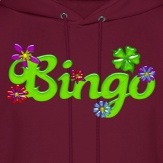 Bingo Bubble Floral Hoodies